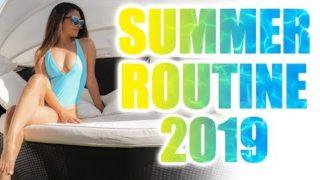 SUMMER ROUTINE 2019 👙BIKINI BODY, HAARPFLEGE, HAUTPFLEGE, FITNESS ROUTINE IM SOMMER   KINDOFROSY