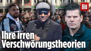 Die irren Verschwörungstheorien von Ken Jebsen, Xavier Naidoo und Attila Hildmann
