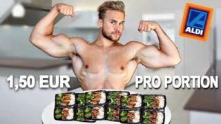 Gesunde & Einfach Meal Prep für wenig Geld   Unter 20 Euro!