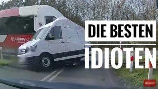 Die Besten und größten Idioten als Autofahrer Car Crash / Fails / Compilation 2018